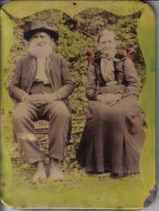 Alfred Harrison Craig with wife Nancy Cannon.
