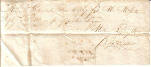 Miller Receipt December 6, 1827