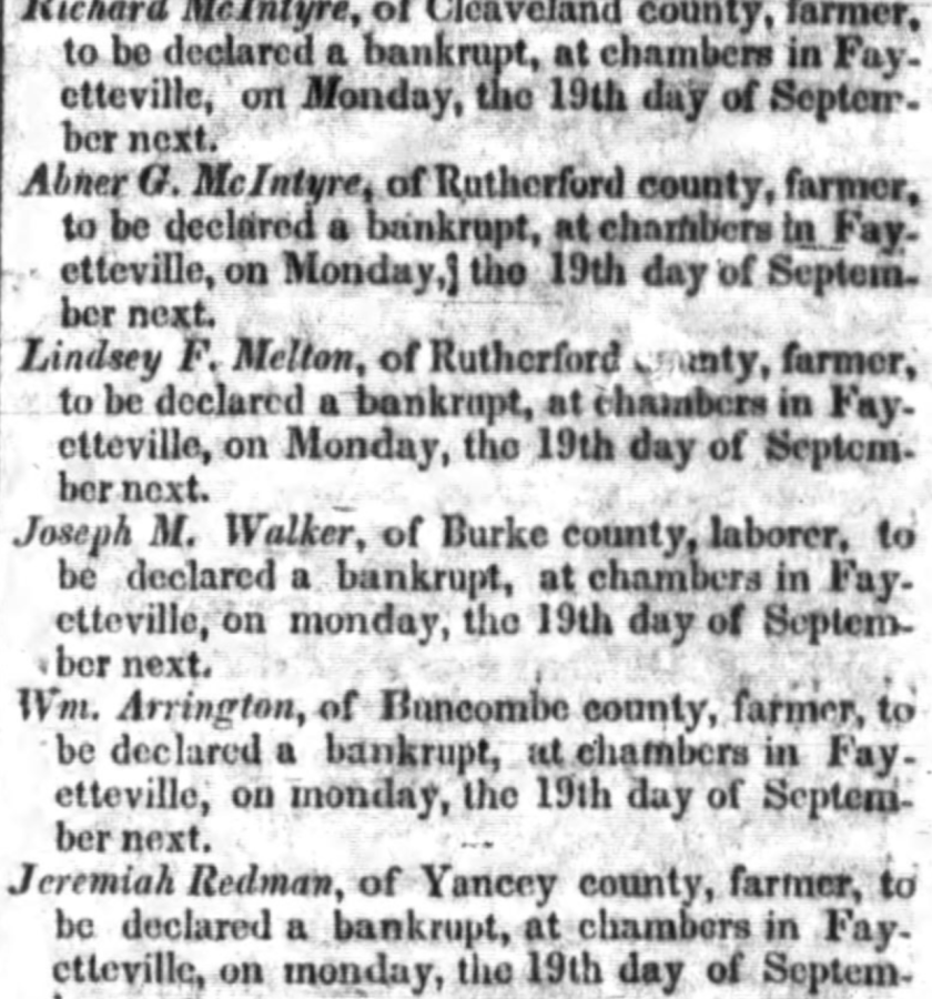 Highland Messenger (Asheville, NC) 2 Sep 1842